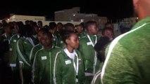 Les comores ont participé au défilé aux jeux de la cjsoi de Djibouti. Les autres activités debutent demain avec le match de football des comores.