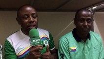 un interview du journaliste de Kassim Oumour  pour la qualification en demifinal du cet athlete au niveau du  petanque dans la cathegorie de tir de precision .