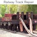 Voilà comment sont réparés les rails des voies de chemin de fer