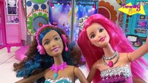Barbie Escenario Campamento Princesas - juguetes Barbie toys - Barbie Rock and Royals Stage