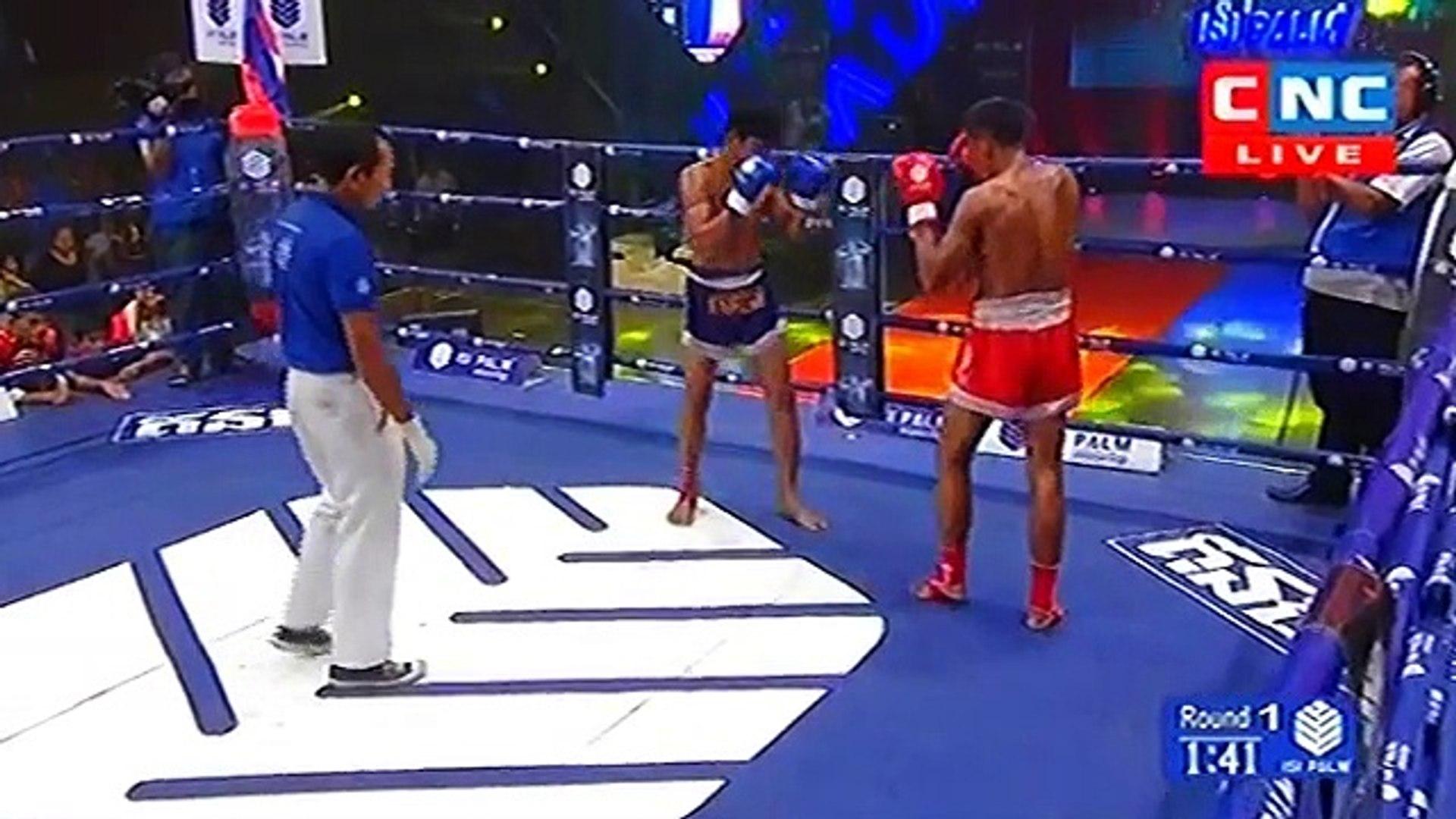 Long Chin, Cambodia vs Thai, Dangkanwan, 27 May 2018, International Boxing, Khmer Boxing