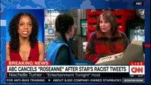 "Brian Stelter on ABC cancels ""Roseanne"" after Star's racist tweets. #ABC #Breaking #Roseanne #Breakingnews"