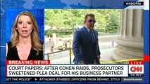 Court papers: After Cohen raids, Prosecutors sweetened plea deal for his business partner. #Breakingnews #Breaking #RussiaProbe #MichaelCohen