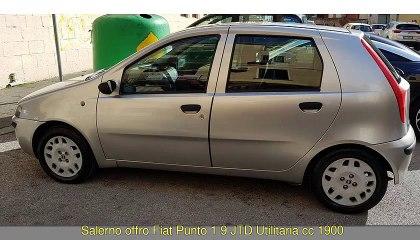 FIAT Punto 1,9 JTD Utilitaria