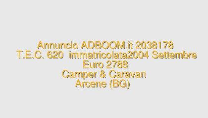 T.E.C. 620  immatricolata2004 Settembre