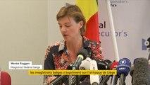 """Attaque à Liège : """"Il pourrait s'agir d'un attentat terroriste : le modus operandi, l'auteur qui crie Allah Akbar et les informations selon lesquelles le suspect était en contact avec des personnes radicalisées"""", déclarent les autorités belges"""