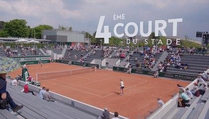 Le court n°18 - Roland-Garros 2018