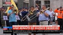 Fusillade à Liège: Regardez la minute de silence qui s'est déroulée à la mi-journée - VIDEO