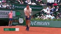 Roland-Garros : Tomas Berdych pousse Jérémy Chardy dans un 5e set