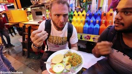 FAMOUS Night INDIAN STREET FOOD Tour of JUHU BEACH + Meetup | Mumbai, India