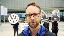 Affenversuche bei VW: PETA demonstriert vor VW-Hauptversammlung / PETA