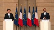 Compte-rendu du séminaire gouvernemental par le Premier Ministre Édouard Philippe et par Benjamin Griveaux, porte-parole du gouvernement