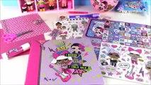 LOL Surprise Party FAVOR PACK Ball! LOL LIP BALM & SQUISHY! DIY Scrapbook Kit! Secret PEN! FUN