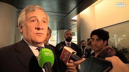 """Tajani: """"Chiediamoci perché le persone votano i populisti"""""""
