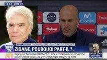"""Tapie sur le départ de Zidane: """"Je pense qu'il a fait le tour de son équipe"""", explique Bernard Tapie"""