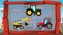 Colors for Kids Toddlers Learn Colors with Dinosaurs Tractor Excavator | Fun Learning Video
