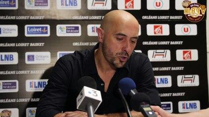 Playoffs Pro B vs Rouen - Réaction aprés match