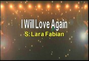 Lara Fabian I Will Love Again Karaoke Version