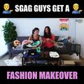 EXTREME MAKEOVER TIME! Which of our brave contestants pulled off their funky styles better? CAN'T BELIEVE THEY WENT THIS far to get a chance to win