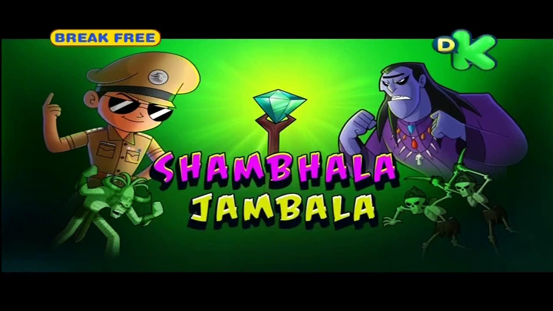 Shambhala Jambala - Little Singham - In HINDI - Animated Cartoon For Kids