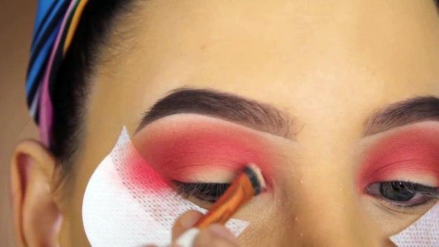 Peachy Eye Makeup Tutorial using $6 Palette-!