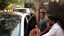 Salman Khan And Remo D'Souza Spotted During Race 3 Dubbing