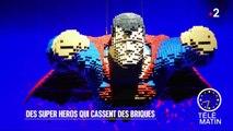 Visite guidée - Des super-héros qui cassent des briques