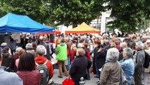 """""""Les 3 de Briançon"""" : près de 300 personnes mobilisées devant le tribunal de Gap"""