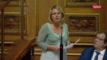 Réforme de la SNCF: Cécile Cukierman (PC) dénonce la suppression du statut de cheminot