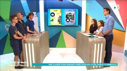 Prise en charge des enfants intellectuellement précoces : le lycée Boucher de Perthes d'Abbeville innove en proposant un dispositif d'accueil unique dans l'académie, et même en France !