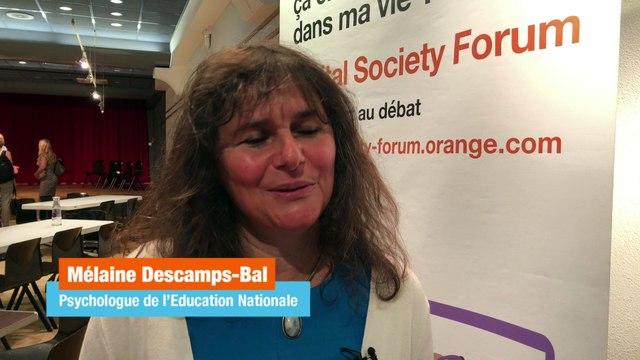 """Atelier Écrans, parents et enfants - """"Le numérique, un danger mais surtout une opportunité"""" - Mélaine Descamps-Bal, psychologue"""