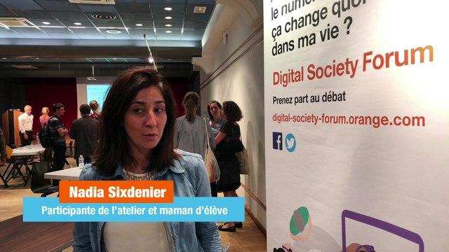 """Atelier Écrans, parents et enfants - """"Cet atelier est une super initiative"""" - Nadia Sixdenier"""