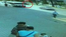 Otomobille motosikletin çarpışması sonucu 2 kişi ağır yaralandı