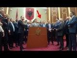 Rama largohet nga salla e Kuvendit, demokratët: Ik, ik, ik - Top Channel Albania - News - Lajme