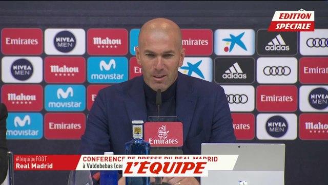 Zidane «J'ai décidé de ne plus continuer en tant qu'entraîneur du Real» - Foot - ESP - Real Madrid