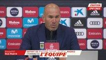 Zidane «Je me suis fait siffler» - Foot - ESP - Real Madrid