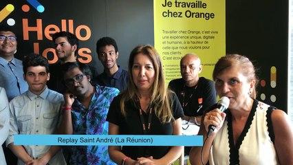 HelloJobs à La Réunion, le 17 mai 2018.