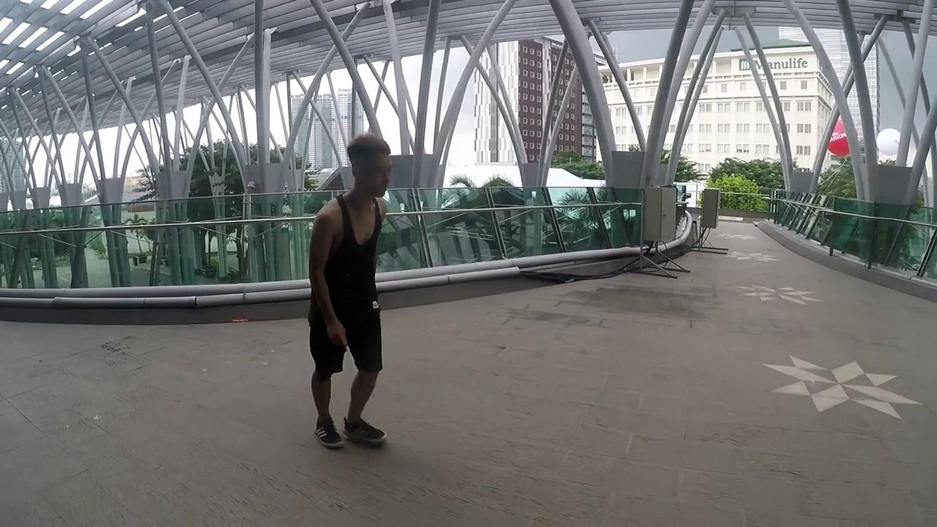 HƯỚNG DẪN FRONT FLIP ( Lộn trước ) - How to front flip