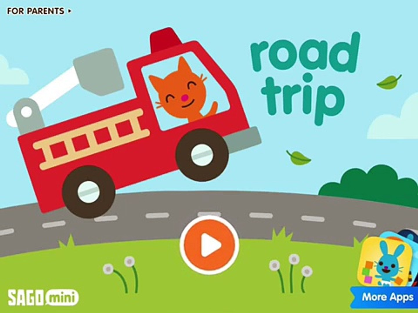 Sago Mini Road Trip | School bus | Саго Мини В Путь-Дорогу - Childrens cartoon game