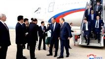 Russian foreign minister Sergey Lavrov meets Kim Jong-un
