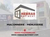 Entreprise de couverture, menuiseries, plâtrerie, isolation ou carrelage à Montmorillon.
