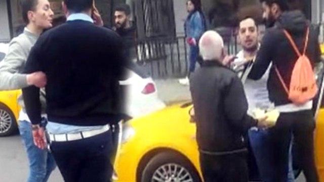Polis Tarafından Durdurulup Evrakları İstenen Taksi Şoförü Terör Estirdi