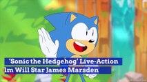 'Sonic the Hedgehog' Live-Action Film Will Star James Marsden