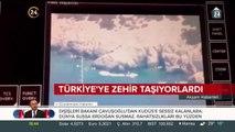 Türkiye'ye zehir taşıyorlardı