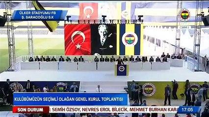 Ali Koç'un Konuşması  - Fenerbahçe Seçimli Olağan Genel Kurul Toplantısı 02/06/2018