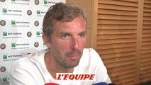 Benneteau «Roland-Garros a été pour moi un lieu à part» - Tennis - Roland-Garros