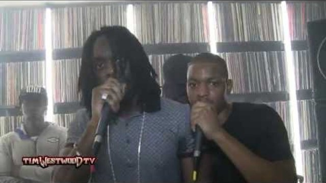 Yung Reeks, Big Bullz, Wholagun (FullTimerz) freestyle - Westwood Crib Session