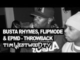 Busta Rhymes, Flipmode, EPMD freestyle - rare first time ever released Throwback - Westwood