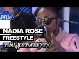 Nadia Rose freestyle backstage at Wireless - Westwood