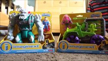 New Imaginext Toys!! Doomsday with Superman and Lex Luther Hauler
